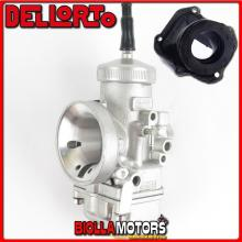 BR-53+09303 CARBURATORE DELLORTO VHSH 30 CS + COLLETTORE INCLINATO ROTAX 122