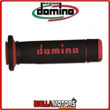 A18041C4240A7-0 COPPIA MANOPOLE ATV NERO/ROSSO ATV DOMINO KTM SX ATV CHASSIS 450CC 09 83002021001