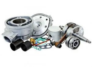 9924240 CYLINDER KIT + ALBERO TOP TPR D.50mm CORSA 44mm YAMAHA DT 50 X 50 2T LC euro 2 AM6 ALLUMINIO