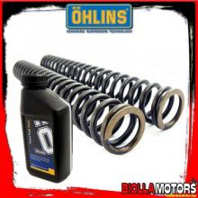 08657-85+OLIO SET MOLLE FORCELLA OHLINS SUZUKI SV 650 1999-02+OLIO SET MOLLE FORCELLA