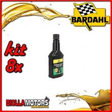KIT 8X 150ML BARDAHL OCTANE BOOSTER MOTORCYCLE ADDITIVO CARBURANTE 150ML - 8x 104011