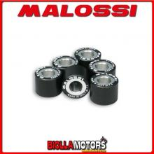 6611534.H0 6 RULLI RULLI VARIATORE MALOSSI D. 20X14,6 GR. 15,5 KYMCO DINK 150 4T LC EURO 0-1-2 - -