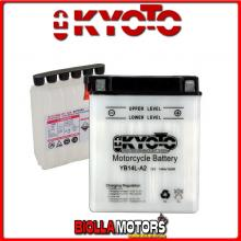 712142 BATTERIA KYOTO YB14L-A2 [SENZA ACIDO] YB14LA2 MOTO SCOOTER QUAD CROSS [SENZA ACIDO]