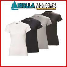 3041233 HH W TECH TSHIRT 597 NAVY L T-Shirt HH Tech T Donna