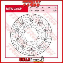 MSW233SP DISCO FRENO ANTERIORE TRW Suzuki GSXR 1000 ABS 2017- [FLOTTANTE - ]