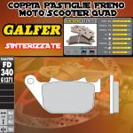 FD340G1371 PASTIGLIE FRENO GALFER SINTERIZZATE POSTERIORI HARLEY DAVIDSON XL 1200 V SEVENTY-TWO 12-