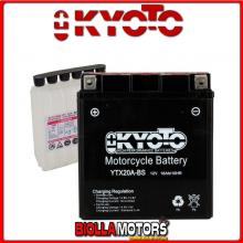 712345 BATTERIA KYOTO YTX20A-BS SIGILLATA CON ACIDO YTX20ABS MOTO SCOOTER QUAD CROSS