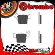 07106CC PASTIGLIE FRENO POSTERIORE BREMBO FANTIC MOTOR CABALLERO MOTARD 2010- 50CC [CC - SCOOTER CARBON CERAMIC]