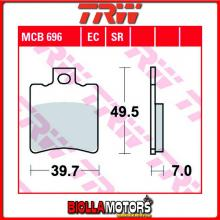 MCB696 PASTIGLIE FRENO ANTERIORE TRW Sachs ZZ 125 Funbike 1999- [ORGANICA- ]