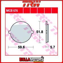 MCB676 PASTIGLIE FRENO ANTERIORE TRW Jawa 640 Style 1993- [ORGANICA- ]