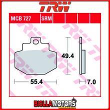MCB727LC PASTIGLIE FRENO POSTERIORE TRW Piaggio 125 Hexagon 4T 2002-2003 [ORGANICA- LC]