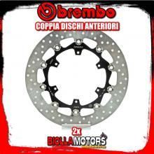 2-78B40887 COPPIA DISCHI FRENO ANTERIORE BREMBO KTM ADVENTURE 2013- 1190CC FLOTTANTE