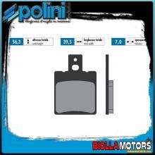 174.0029 PASTIGLIE FRENO POLINI POSTERIORE DB MOTORS PIRAT 50 ZZ 50CC 2000- ORGANICA