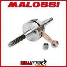 5313587 ALBERO MOTORE MALOSSI RHQ GARELLI TIESSE 50R 50 2T EURO 2 (1E40QMB) SP. D. 12 CORSA 39,2 MM -