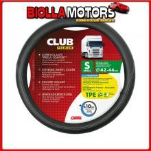 98845 LAMPA CLUB, COPRIVOLANTE PRESA CONFORT IN TPE - S - ? 42/44 CM - NERO