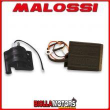 558765 CENTRALINA MALOSSI TC UNIT ATALA CAROSELLO 50 2T RPM CONTROL K15 COMPLETA DI BOBINA -