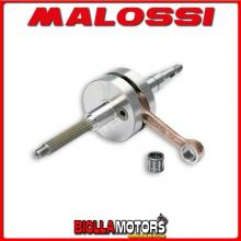 538009 ALBERO MOTORE MALOSSI SPORT BENELLI 491 SPORT 50 2T LC (MINARELLI) BIELLA 85 - SP. D. 12 CORSA 39,2 MM -