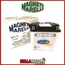 6N11A-3A BATTERIA MAGNETI MARELLI 6N11A-3A SENZA ACIDO 6N11A3A MOTO SCOOTER QUAD CROSS