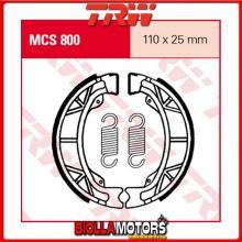 MCS800 GANASCE FRENO POSTERIORE TRW SYM 50 Orbit 2008-2009 [ORGANICA- ]