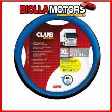 98908 LAMPA CLUB, COPRIVOLANTE PRESA CONFORT IN TPE - XL - ? 49/51 CM - BLU