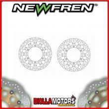 DF5264AFV DISCO FRENO ANTERIORE NEWFREN TRIUMPH THRUXTON 865cc (carb) 2004-2011 FLOTTANTE VINTAGE