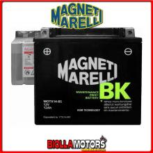 MOTX14-BS BATTERIA MAGNETI MARELLI YTX14-BS SIGILLATA CON ACIDO YTX14BS MOTO SCOOTER QUAD CROSS