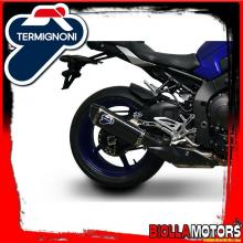 Y11108040TCC SLIP-ON TERMIGNONI YAMAHA MT10 2016-2019 FORCE TITANIUM CuNb/CARBON
