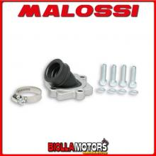 2014524 KIT COLLETTORE ASPIRAZIONE MALOSSI X360 RACING D. 22 - 24,5 GARELLI GSP 50 2T LC EURO 2 (1PE40MB) INCLINATO E LUNGHEZZA
