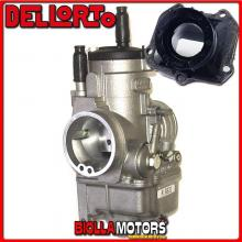 BR-60+06831 CARBURATORE DELLORTO PHBE 34 BS + COLLETTORE DRITTO ROTAX 122