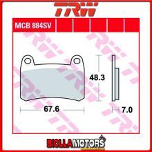 MCB884SV PASTIGLIE FRENO ANTERIORE TRW Generic (KSR Moto) GSR 125 - [ORGANICA- ]