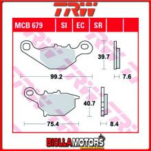 MCB679 PASTIGLIE FRENO ANTERIORE TRW Kawasaki KLX 125 B 2003-2006 [ORGANICA- ]