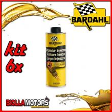 KIT 6X 500ML BARDAHL PULITORE DIESEL INJECTOR CLEANER 500 ML - 6x 122031