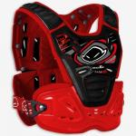 PT02084 PETTORINA REACTOR UFO NERO/ROSSO CROSS OFF ROAD ENDURO