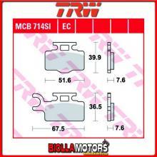 MCB714SI PASTIGLIE FRENO ANTERIORE TRW Kawasaki KX 65 2000- [ORGANICA- ]
