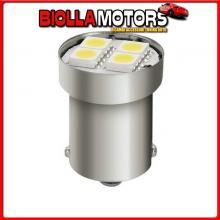 98357 LAMPA 24/28V HYPER-LED 12 - 4 SMD X 3 CHIPS - (P21W) - BA15S - 20 PZ - BUSTA - BIANCO - DOPPIA POLARIT?