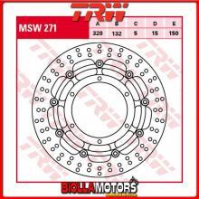 MSW271 DISCO FRENO ANTERIORE TRW Yamaha XT 660 X 2004- [FLOTTANTE - ]