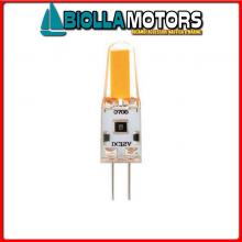 2167536 LAMPADINA LED G4-GEL 12V-DIM< Lampadina LED G4 Gel 120LM