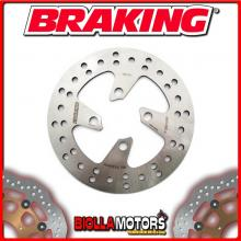MB02FI DISCO FRENO ANTERIORE SX BRAKING MBK BOOSTER 12 WHEELS 50cc 2000-2010 FISSO