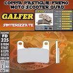 FD325G1370 PASTIGLIE FRENO GALFER SINTERIZZATE ANTERIORI KAWASAKI Z 1000 SX 11-