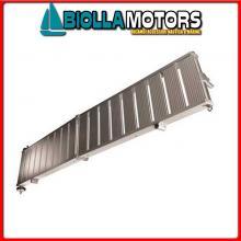 0606523 PASSERELLA PIEG 230 ALU Passerella Pieghevole in Alluminio