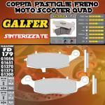 FD179G1375 PASTIGLIE FRENO GALFER SINTERIZZATE ANTERIORI SUZUKI GSX 750 F VS DER. (KATANA 750 USA) 99-02