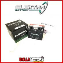 246610110 BATTERIA ELEKTRA YTX12-BS SIGILLATA CON ACIDO YTX12BS MOTO SCOOTER QUAD CROSS