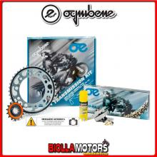1560581645 KIT TRASMISSIONE OE YAMAHA MT-07 (cc 689) - ABS - MC Moto Cage ( Ratio - 2 ) 2014- 700CC