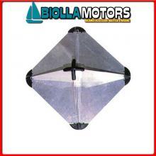 3025030 RIFLETTORE RADAR CUBE ALU S Riflettore Radar Cube