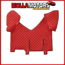 96488 LAMPA TAPPETO CENTRALE IN SIMILPELLE - ROSSO - IVECO STRALIS (08/02>12/12)