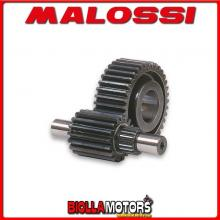 6711060 INGRANAGGI SECONDARI MALOSSI HTQ Z 17 / 41 HONDA PANTHEON 125 2T LC