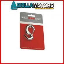 0222252C MOSCHETTONE FIOCCO APERTO D8 INOX CARD Moschettone da Fiocco Aperto MTM