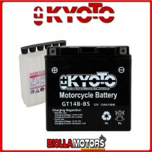 712148 BATTERIA KYOTO YT14B-BS SIGILLATA CON ACIDO YT14BBS MOTO SCOOTER QUAD CROSS