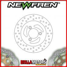 DF4044A FRONT BRAKE DISC NEWFREN PEUGEOT ELYSEO 100cc 2002- FIXED