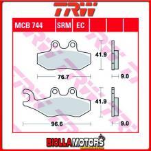 MCB744SRM PASTIGLIE FRENO ANTERIORE TRW Piaggio TPH 50 2 T (12?) 2011- [SINTERIZZATA- SRM]